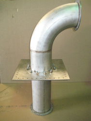 MRI Quench Pipe